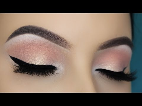 Easy Soft Peachy Eye Makeup Tutorial
