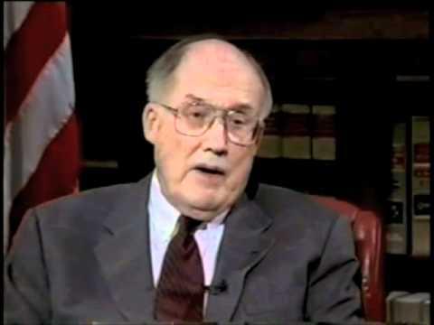 Ken Gormley interviews Chief Justice Rehnquist (2002) about the Steel Seizure Case (1952)