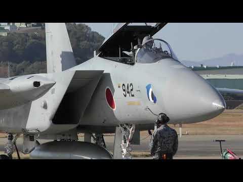 【まそたん F-15】近代化改修機 かっこいい エンジンスタート ~ タキシ―アウト / 2018 岐阜基地航空祭 JASDF GIFU AIR SHOW 20181118