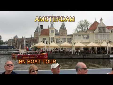 Amsterdam, Open Boat Cruise on the canals.