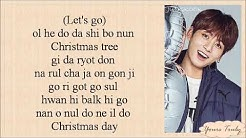 Jimin & Jungkook (BTS 방탄소년단) - Christmas Day (Easy Lyrics)