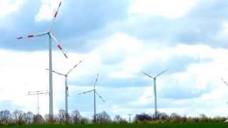 Wind Turbine Farm for Renewable Energy in Europe