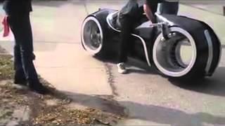 мото с фильма трон motorcycle with Tron