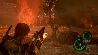 Resident Evil 5 el final como eliminar a Wesker facil_ juego pc