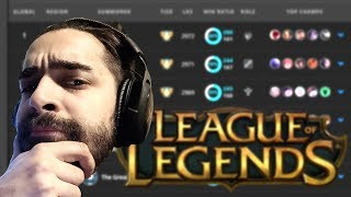 MY LEAGUE OF LEGENDS RANKED EXPERIENCE
