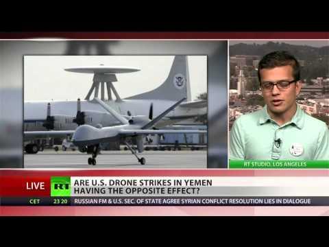 US drone strikes helping terrorists in Yemen?