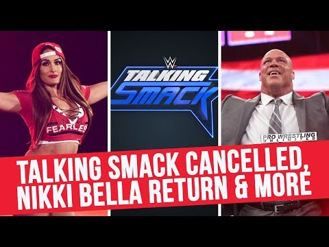 Talking Smack Cancelled; Nikki Bella SummerSlam Return; Angle Live Interview & More