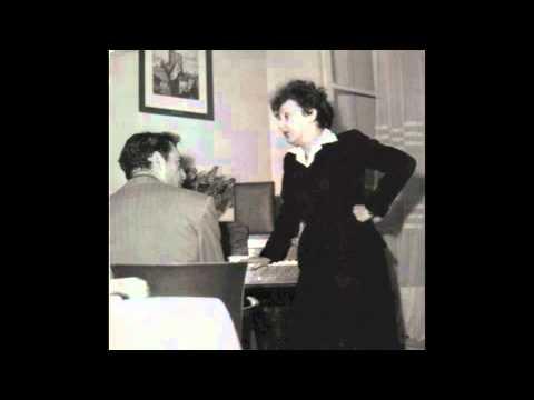 C'est Un Monsieur Très Distingué - Edith Piaf