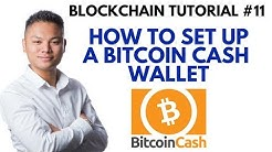 Blockchain Tutorial #11 - How To Setup A Bitcoin Cash Wallet