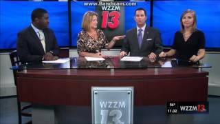 WZZM: WZZM 13 News At 11pm Close & TEGNA ID--10/20/15