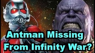 Antman In The Quantum Realm During Infinity War?