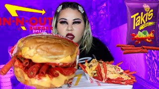NEW In-N-Out TAKIS Double-Double PLUS TAKIS Animal Style Fries