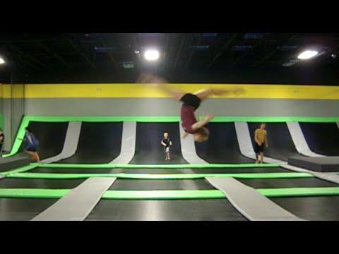 Get air eugene oregon trampoline park youtube
