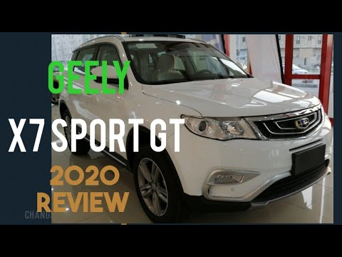 Geely X7 sport GT 2020 Review