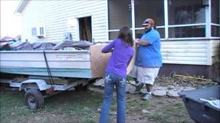 Boats that don't float Season 1 episode 1  Project Dixie 16' Transom replace