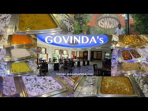Govinda's at Iskcon Temple Delhi - awesome pure vegetarian food and great ambiance!