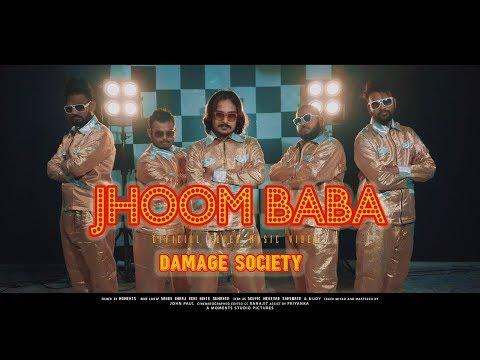 Hindi Cover song | Jhoom Baba | Rock Version | By Damage Society