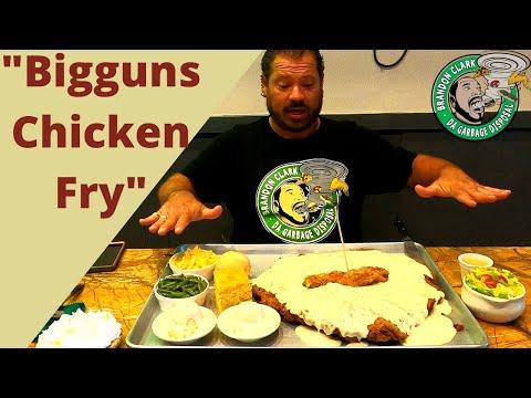 Club Lunch  Biggun Chicken Fry Steak Challenge