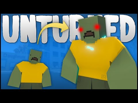 TURNING EVERY ZOMBIE INTO A MEGA ZOMBIE! (Unturned)