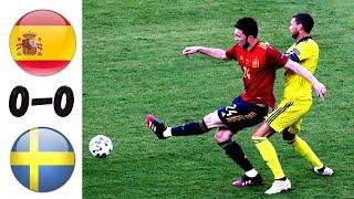 Испания Швеция 0 0 Шведы отскочили Испания Швеция обзор