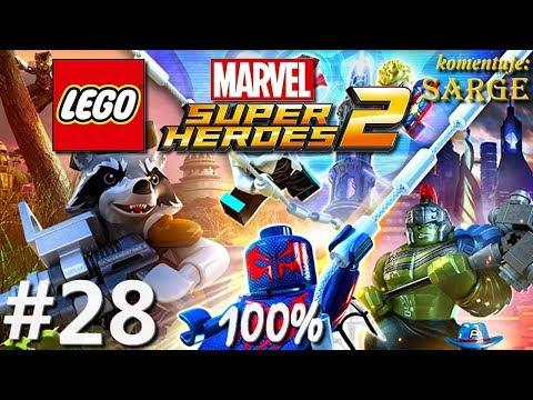 Zagrajmy w LEGO Marvel Super Heroes 2 (100%) odc. 28 - Manhattan [1/?]
