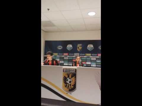 Im in holland guys visiting stadium