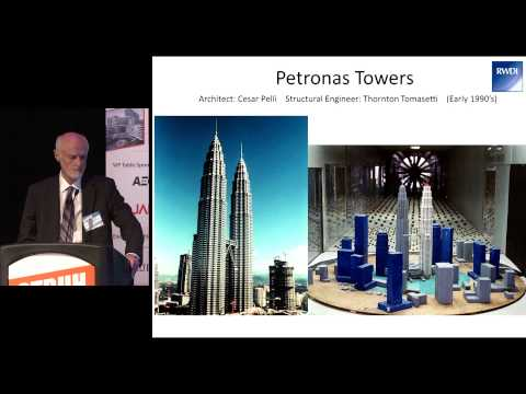 "CTBUH 13th Annual Awards - Dr. Peter Irwin, ""Wind Engineering the World's Tallest"""