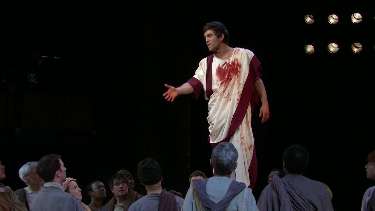 Virtue and ambition in julius caesar