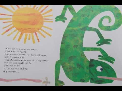 eric carle chameleon template - the mixed up chameleon youtube