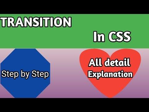 Css Transition Animation Tutorial | Learn html,css, 2019 [ HINDI ] thumbnail