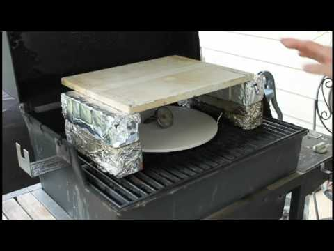 Homemade Brick Oven Pizza - on a gas grill - YouTube