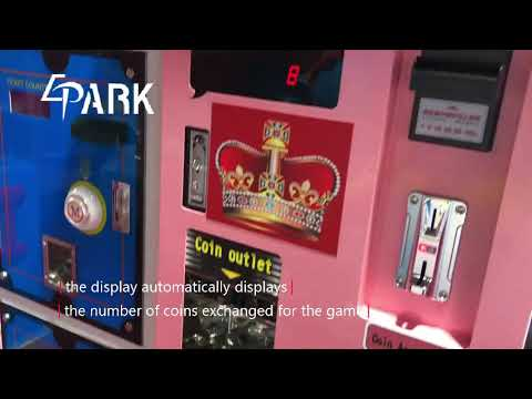 EPARK Automatic Coin Exchange Machine自动兑币机