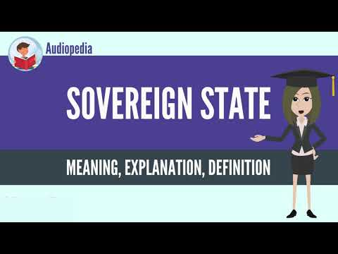 What Is SOVEREIGN STATE? SOVEREIGN STATE Definition & Meaning