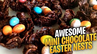 Mini Chocolate Easter Nests