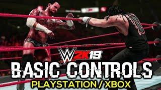 WWE 2K19 Basic Controls