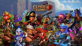 Clash of Clans Heroes Skin Trailers Preview released until 2020