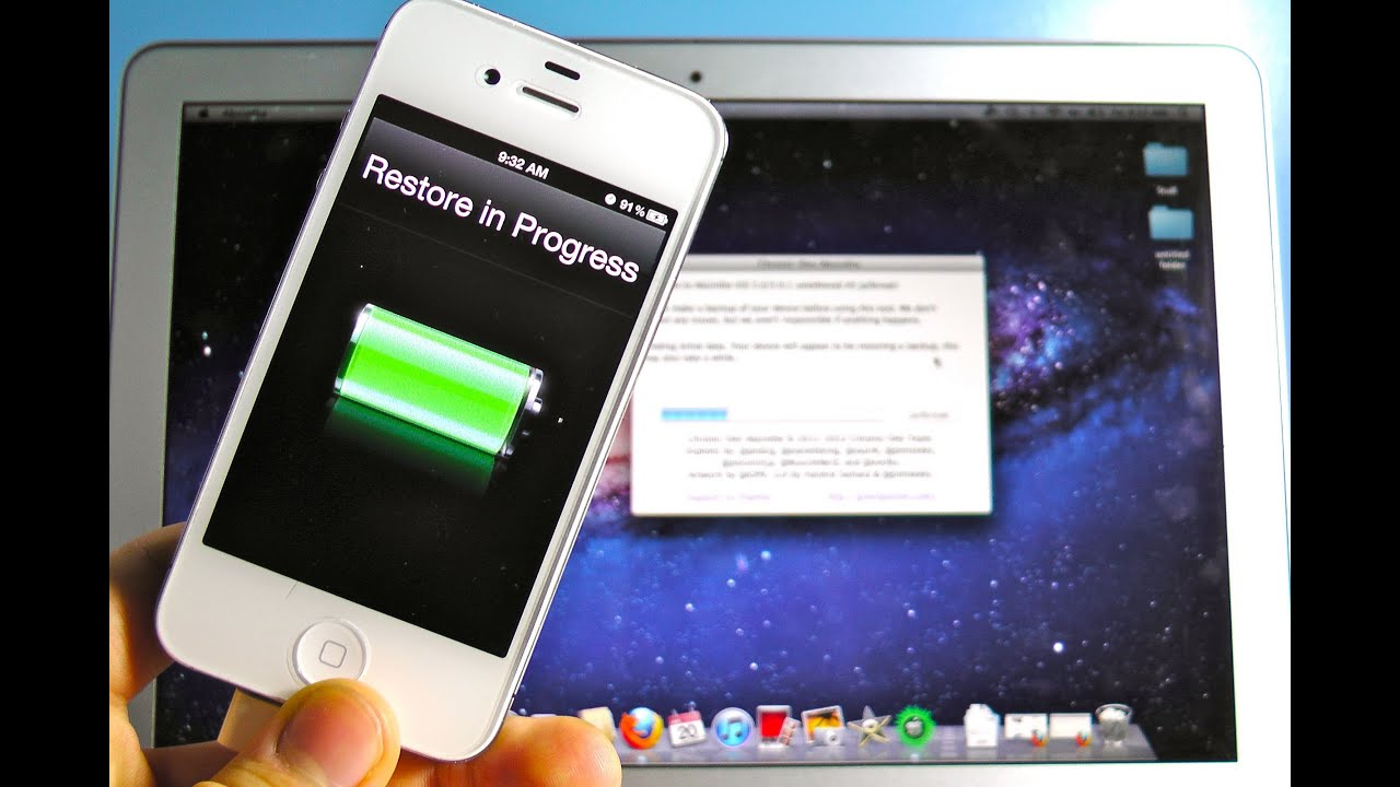 How to jailbreak my iphone 4s for free