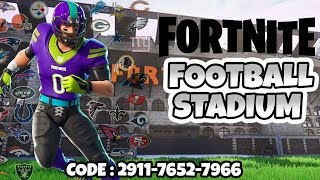FORTNITE Football STADION Map 🏈 The Best Creative Mode Maps + Code