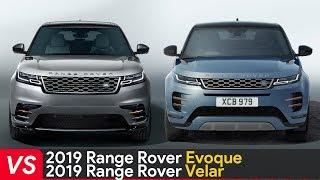 2020 Range Rover Evoque Vs Range Rover Velar ► Design & Dimensions