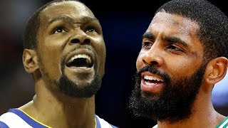 Celtics OFFER Kyrie's Jersey Number To Rookies As KD & Kyrie Have 2nd Meeting Together