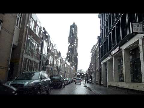 Driving through Utrecht, Netherlands, with Ries