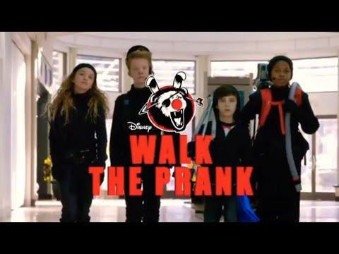gargoyle walk prank disney xd youtube