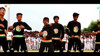INDEPENDENCE DAY DANCE | LITTLE FLOWER SCHOOL | MAHARAJGANJ | SMARTY AJ CHOREOGRAPHY