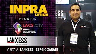 Entrevista con Sergio Zárate de  Lanxess