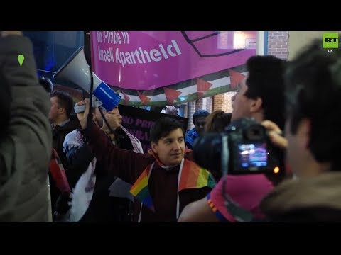 Israeli Eurovision Winner Met With Protest At London's Heaven Gay Club