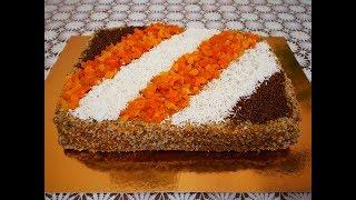 Рецепт торта ВРИНДАВАН очень ВКУСНЫЙ  торт Украшение торта Cake decoration Готовим с Любовью