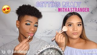 Getting Ready With A Stranger | Makeup Video | Get Ready With Us