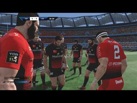 TOULON - LYON LOU :  Rugby 18[PC]