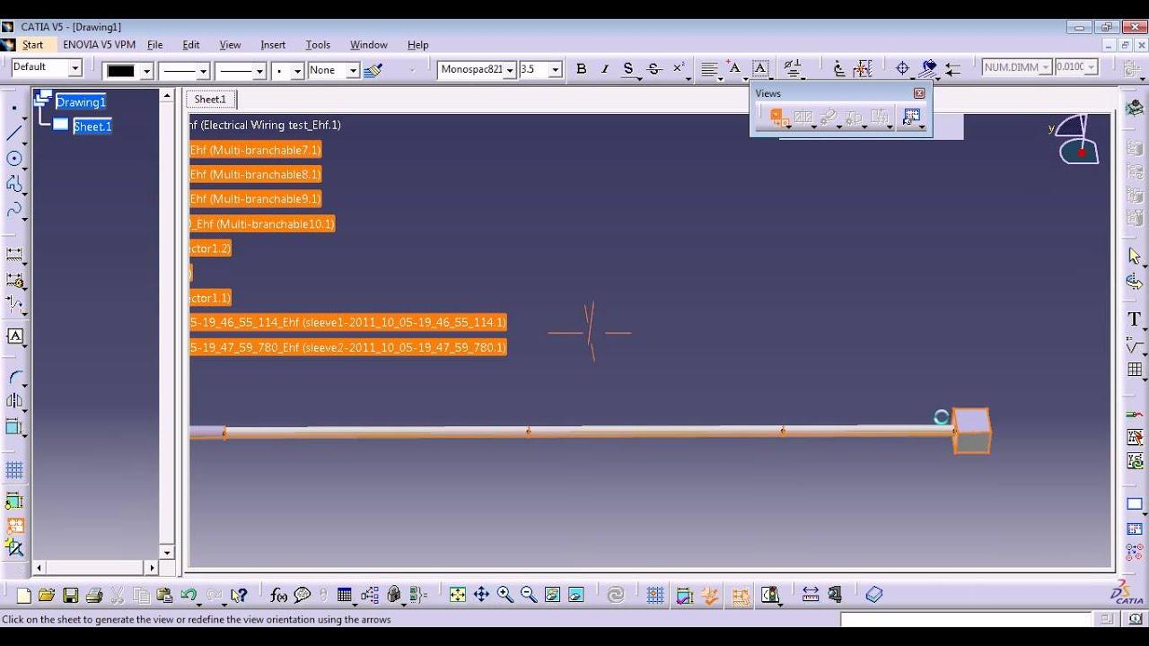 Wing Wire Harness Assy 6 Flattening Youtube