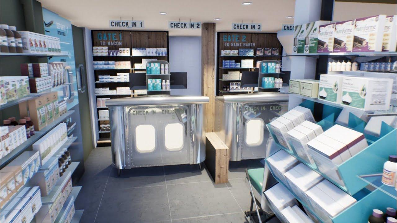 Saint-Barthélemy Pharmacie de l'aéroport